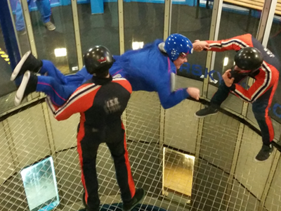 typische activiteiten - indoor skydiven